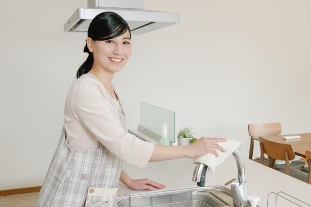 キッチン掃除も便利