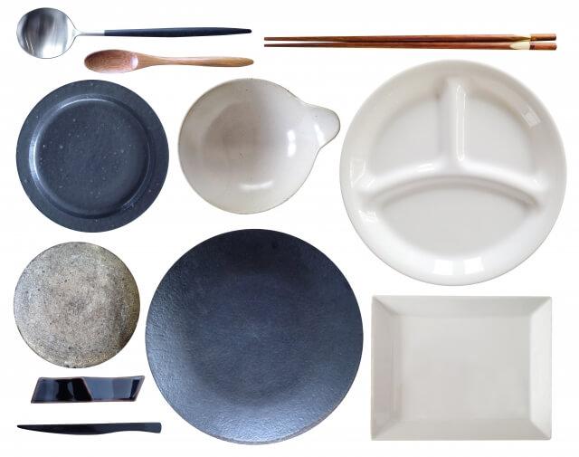 大量の食器も簡単に洗える